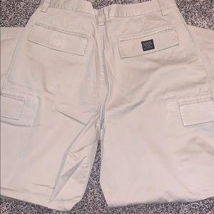 Express Pants - Express Mens Tan Cargo Pants SZ.36x30